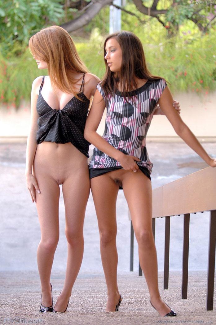Skinny girls flashing naked remarkable, this