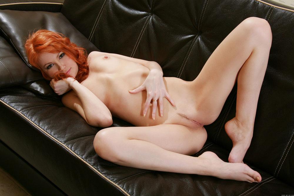 Nude redhead pubic hair video